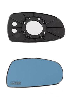 "Зеркальный элемент на рамке 1117-1119 Калина в корпусе ""ДААЗ"" голубой антиблик"